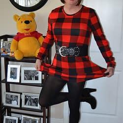 Pooh Loves My Lumberjill Dresses! And I Do Too!