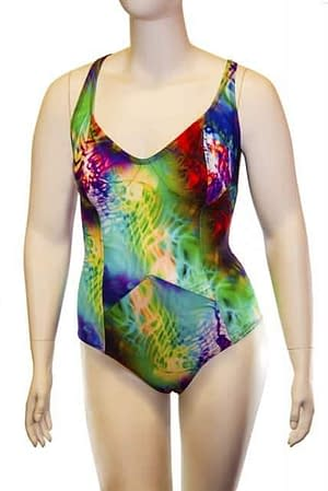 One Piece Swimsuit Assorted Colors
