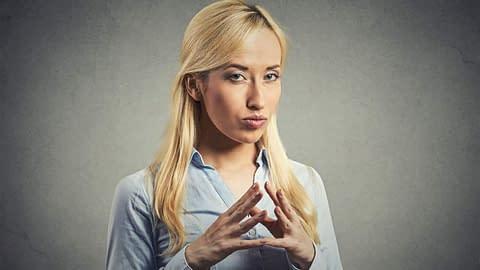 Transgender women - open mouth insert foot
