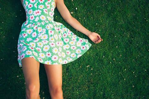 A flirty transgender summer dress