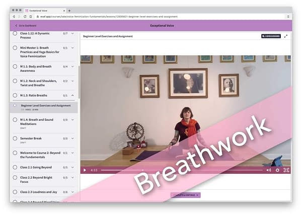 Exceptional Voice - Breathwork-cdh