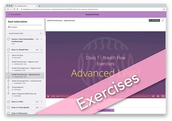 Exceptional Voice - Exercises-cdh
