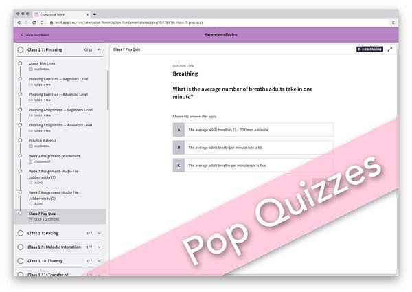 Exceptional Voice - Pop Quiz-cdh