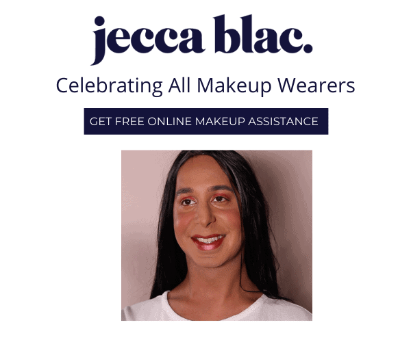 Jecca Blac celebrating all makeup wearers