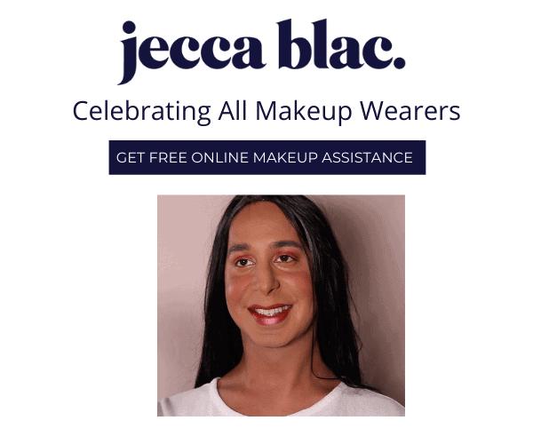Jecca Blac celebrating all makeup wearers