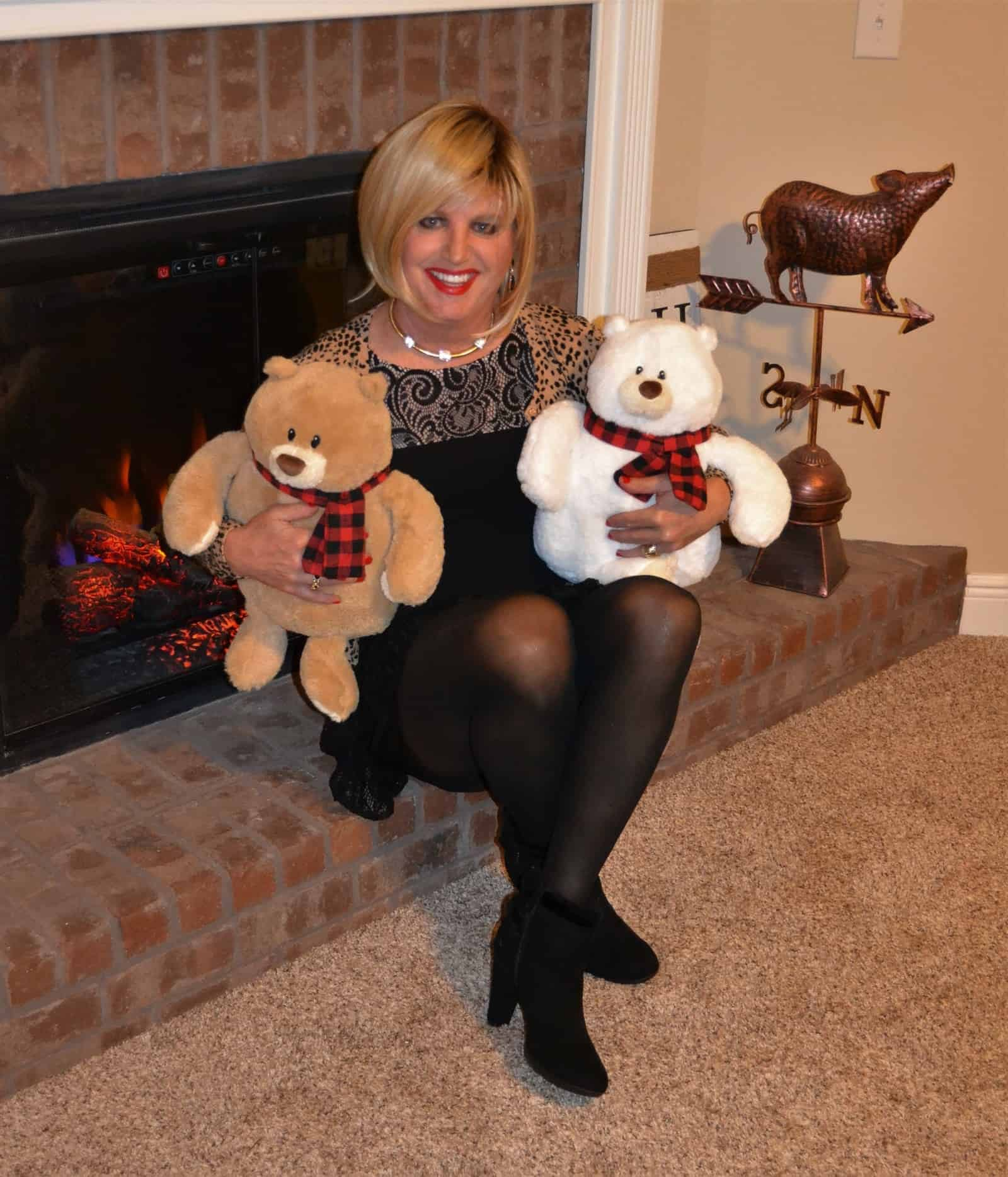 Me And My Two Teddies!