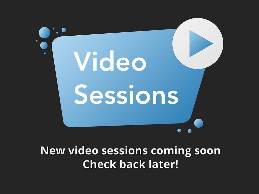 Video Session Coming Soon